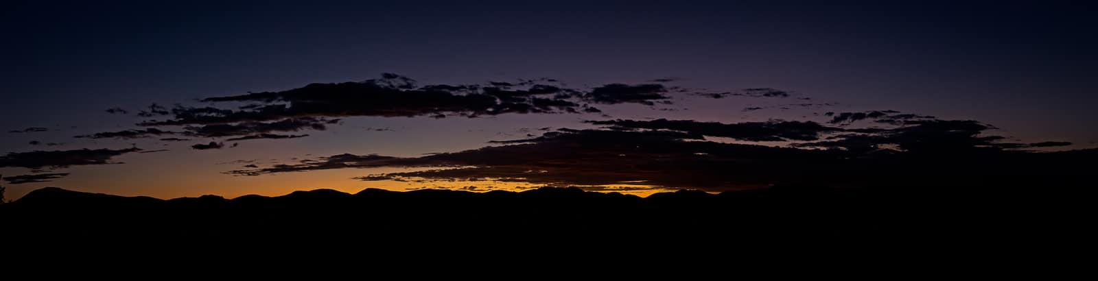 Sunsetting while I post process images.