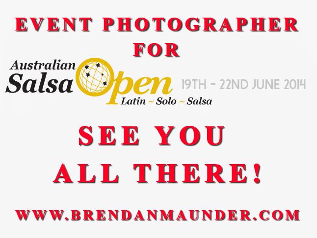 Australian Salsa Open Photographer