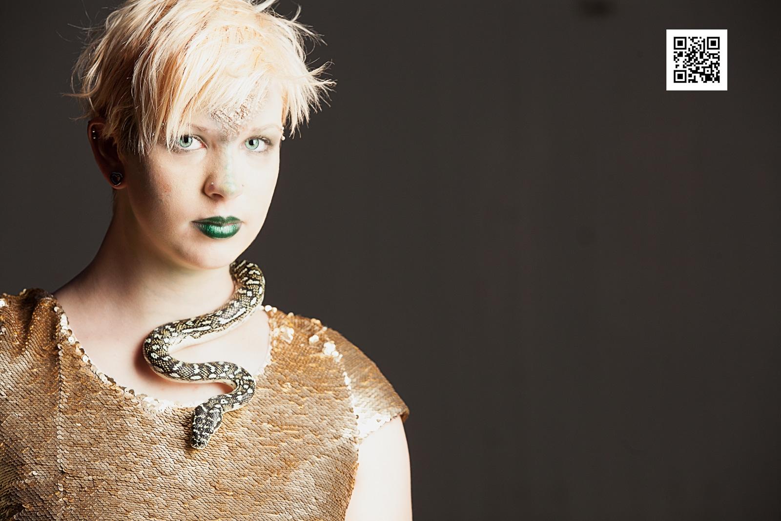 Medusa and her snake