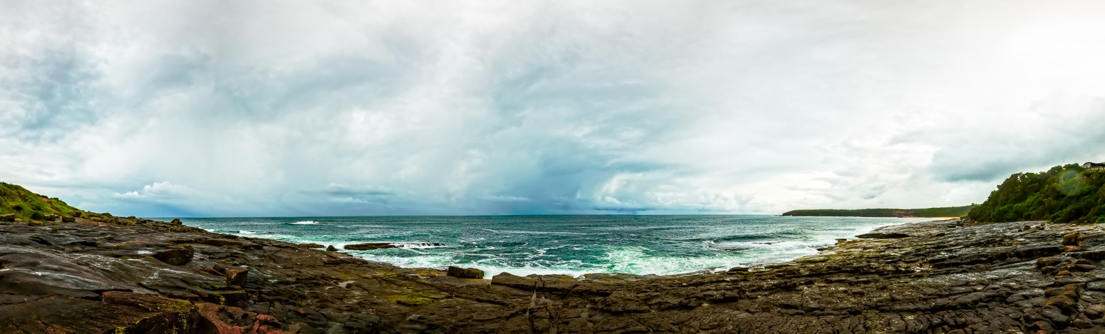 Rocky Merimbula coastline